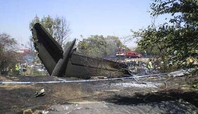 Accidente aéreo en Barajas