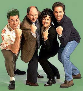Seinfeld (1989-1999) de Jerry Seinfeld.