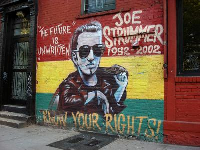 Joe Strummer: The future is unwritten (2007) de Julien Temple.